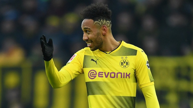 Aubameyang has had his back against the wall during his time at Dortmund